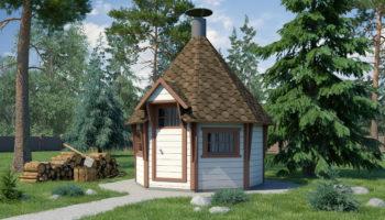 Проект Гриль домик