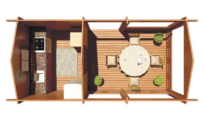 Летняя кухня Sedna 112 фото