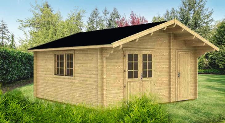 Садовый домик из бруса Maria 7/34-70 фото