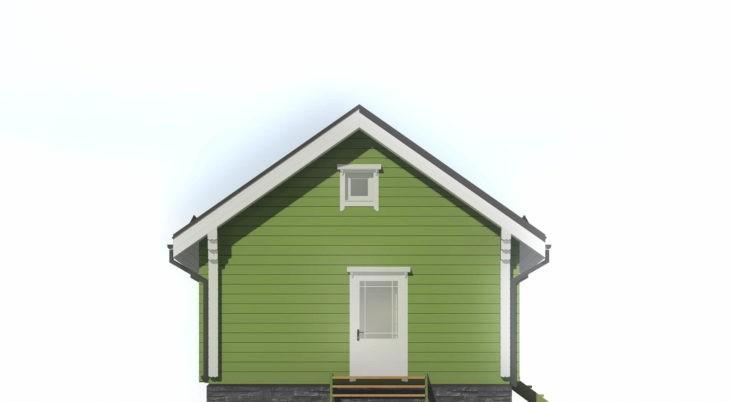 Проект дома из бруса Д-285 фото